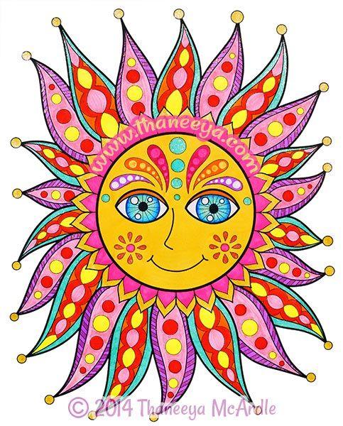 483x600 1672 Best Celestial sun moon Images Mandalas