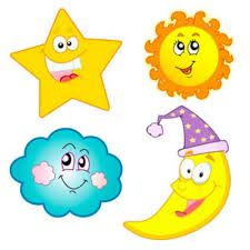225x225 Sun And Moon Pictures Clip Art