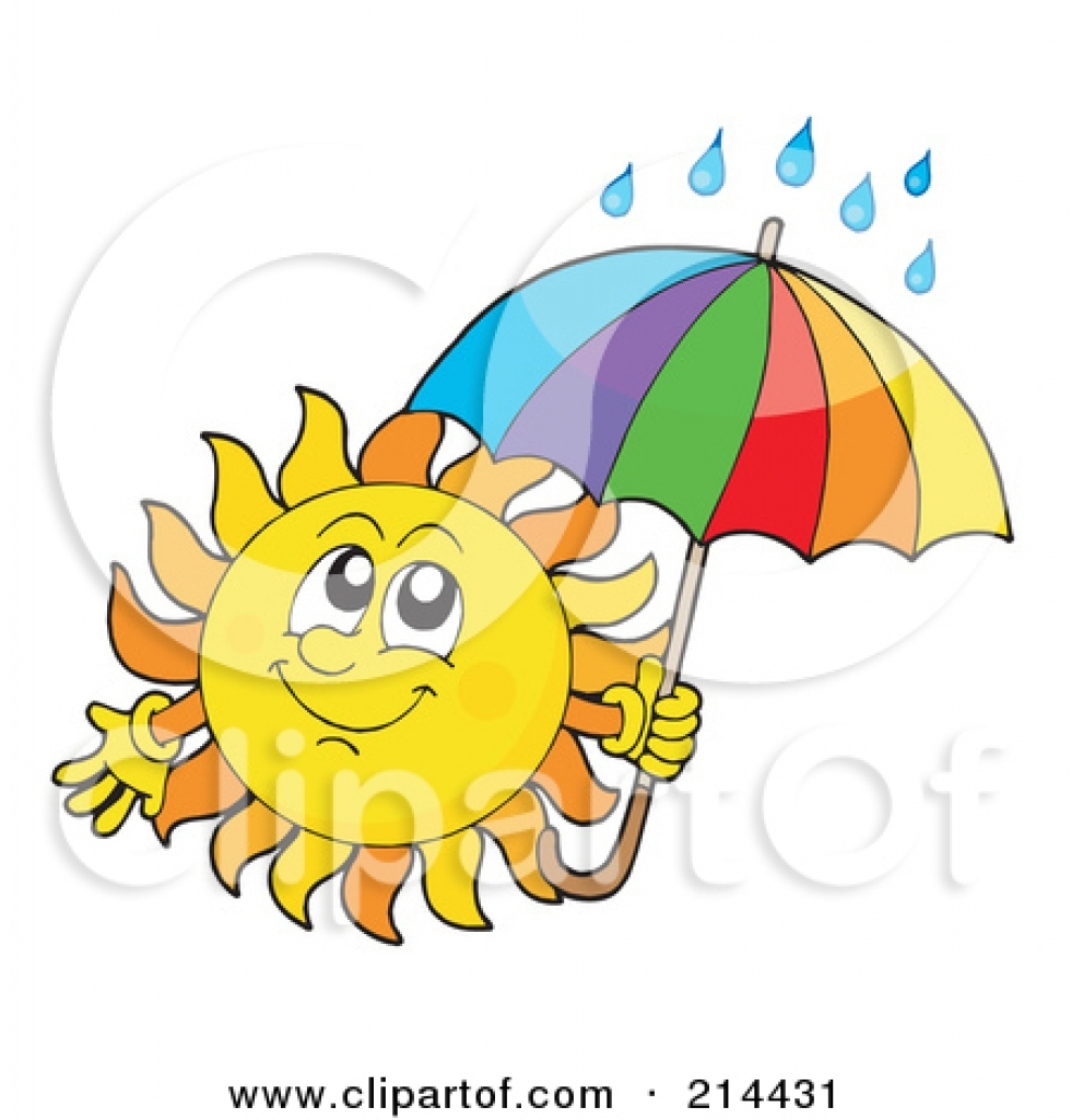 980x1024 Rain Clipart