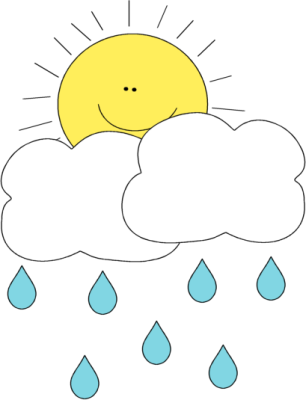 306x400 Sun Behind Rain Cloud Clip Art