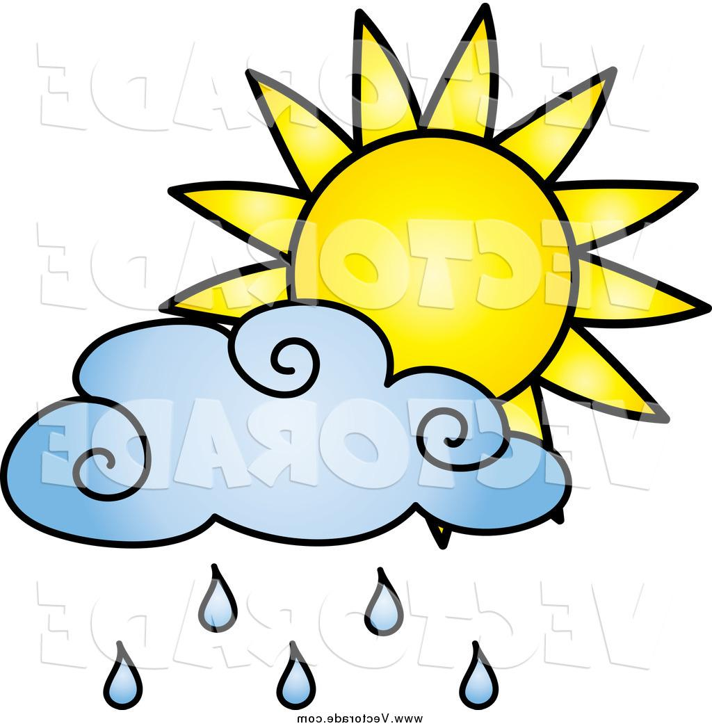 1024x1044 Unique Vector Of Sun And Blue Rain Cloud By Pams Clipart Drawing