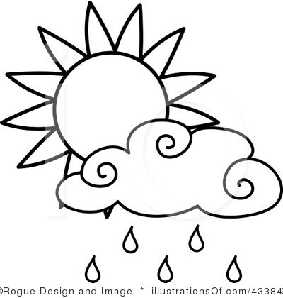 400x420 Rain Clip Art Black And White Royalty Free Rain Clipart