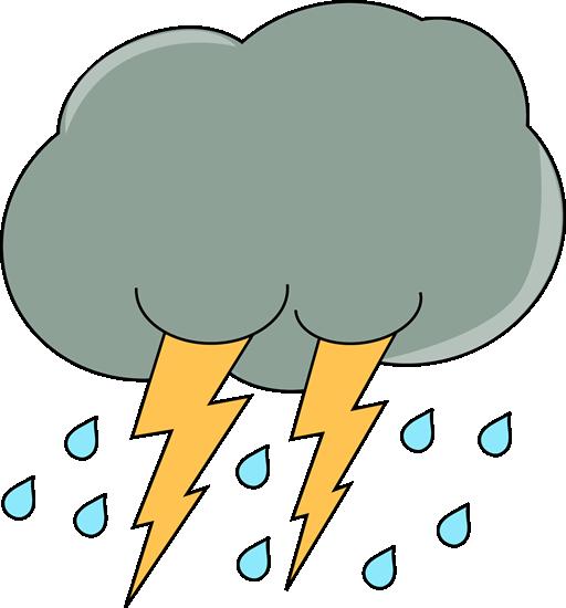 512x550 Free Rain Cloud Clipart Image