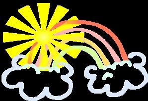 298x204 My Rainbow Clip Art