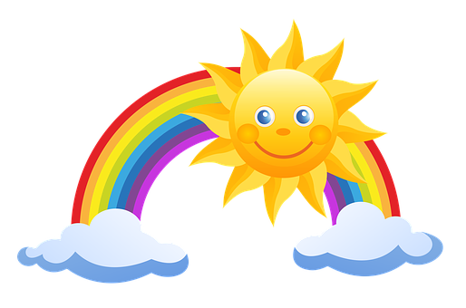 514x340 Rainbow Clipart Animated