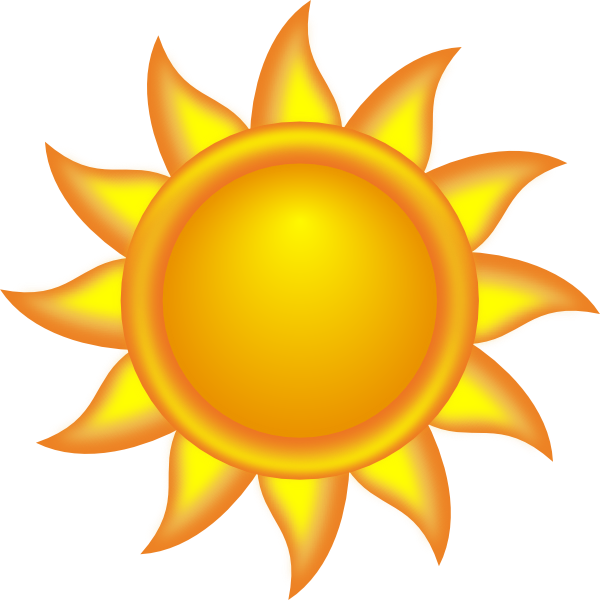 600x600 Sun Clipart Decorative Sun Clip Art