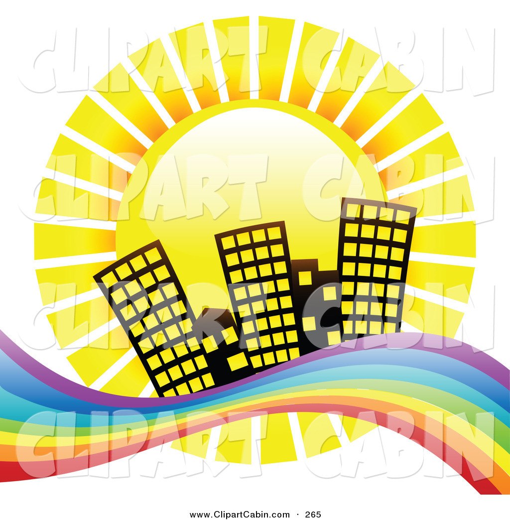 1024x1044 Vector Clip Art Of A Bright Yellow Sun Shinging Down Hotel
