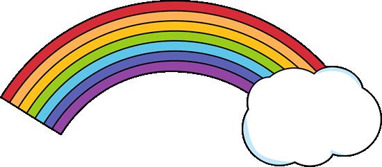 550x241 Clipart Rainbow
