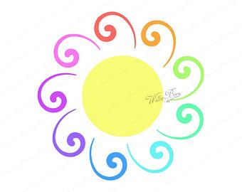 340x270 Sun clipart Etsy