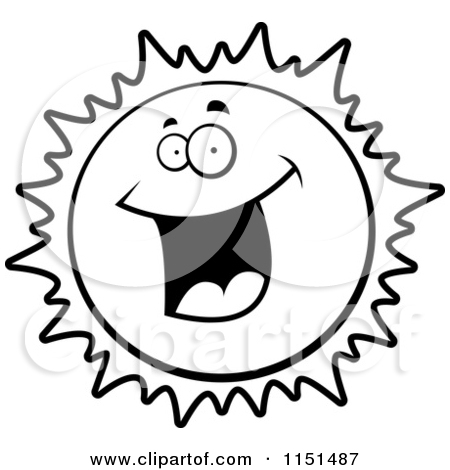 450x470 Happy Sun Clipart Black And White Clipart Panda