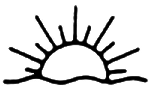 500x287 Sun Black And White Half Sun Clipart Black And White Clipartfest