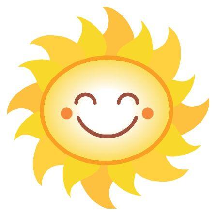 446x444 Happy Sun Clip Art Free Clipart Images