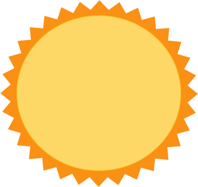 400x376 Sun Border Clipart Free Images 3