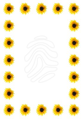279x400 Sunshine Clipart Page Border
