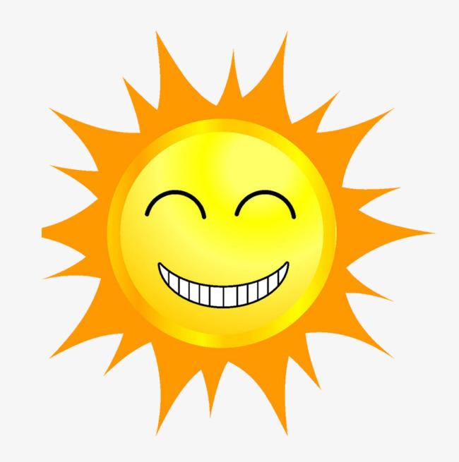 650x655 cartoon smiling sun, Cartoon Sun, Yellow, Sunny Day PNG Image for
