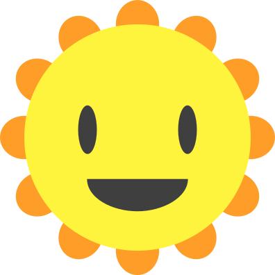 396x396 sun cartoon