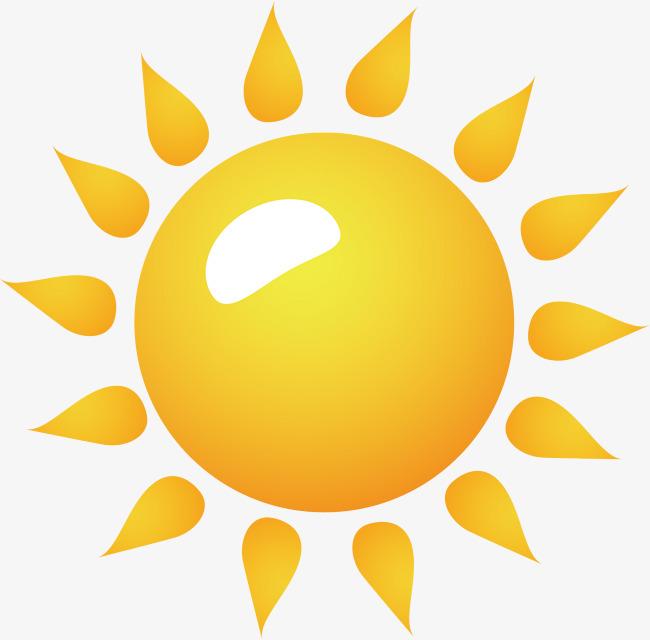650x640 Sun Png Vector Element, Sun Vector, Sunlight, Cartoon Png