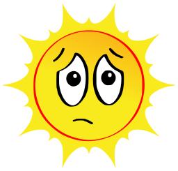 256x245 sun sad