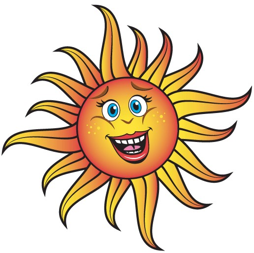 516x515 Smiling Cartoon Sun Vector Eps amp Ai format free vector download