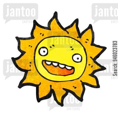 400x400 Sun Cartoons