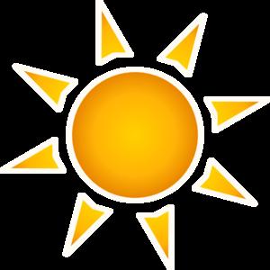 300x300 Sun Clip Art