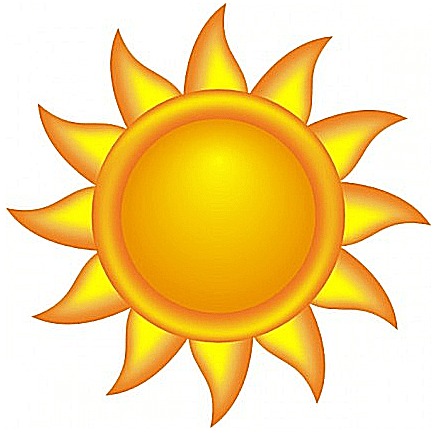 434x428 Awesome Idea Sunshine Clipart Free Sun Clip Art To Brighten Your