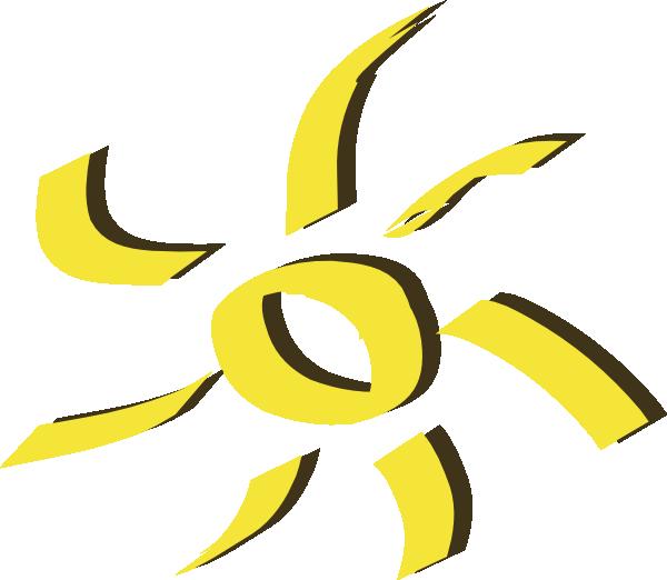 600x522 Sun Clip Art Free Vector 4vector