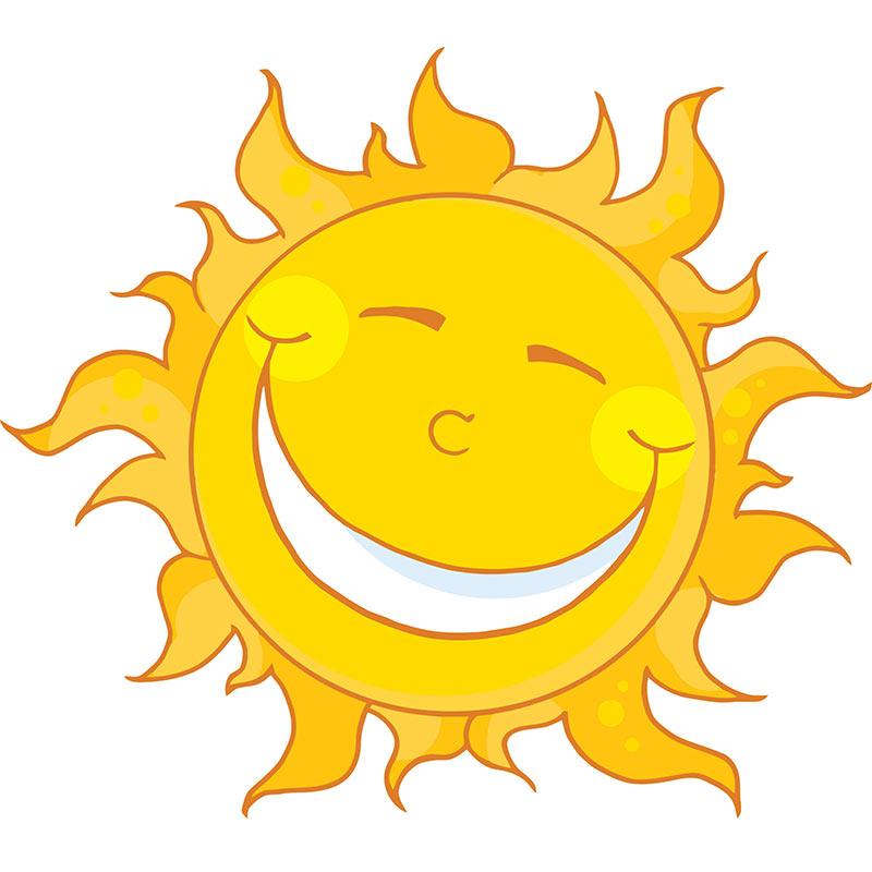 800x800 Sunshine Sun Clip Art Images 2 Clipartbold