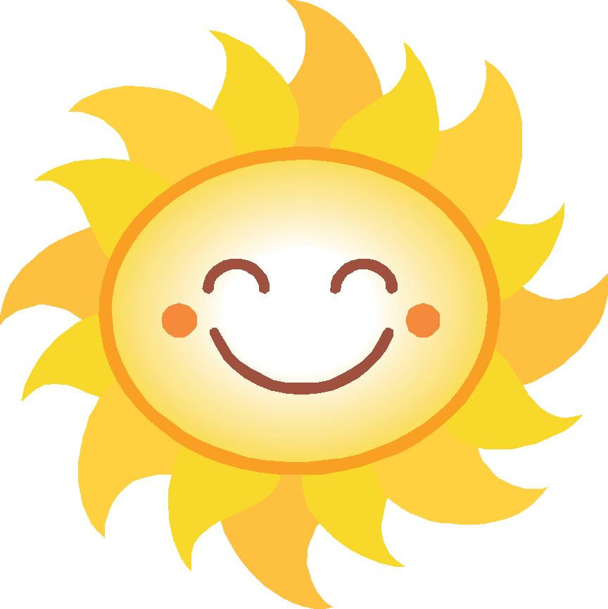 864x866 Clipart Of Sun