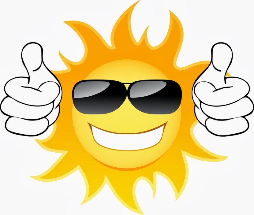 830x703 Free Clip Art Sun Wearing Sunglasses Louisiana Bucket Brigade