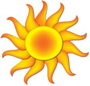 300x288 Sun Clipart Image