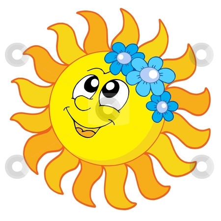 450x450 Clip Art Smiling Sun Clipart