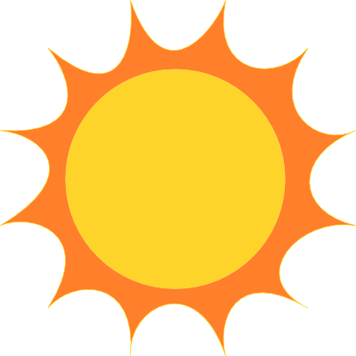 400x400 Sunshine Animated Sun Clipart