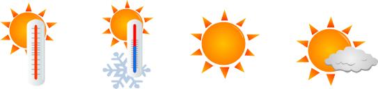 543x128 Sun Clipart