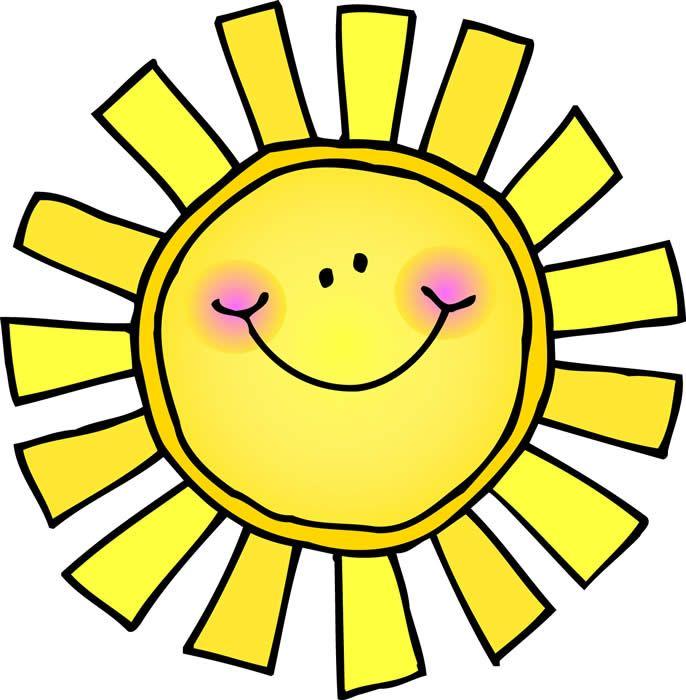 686x700 Sunshine clip art