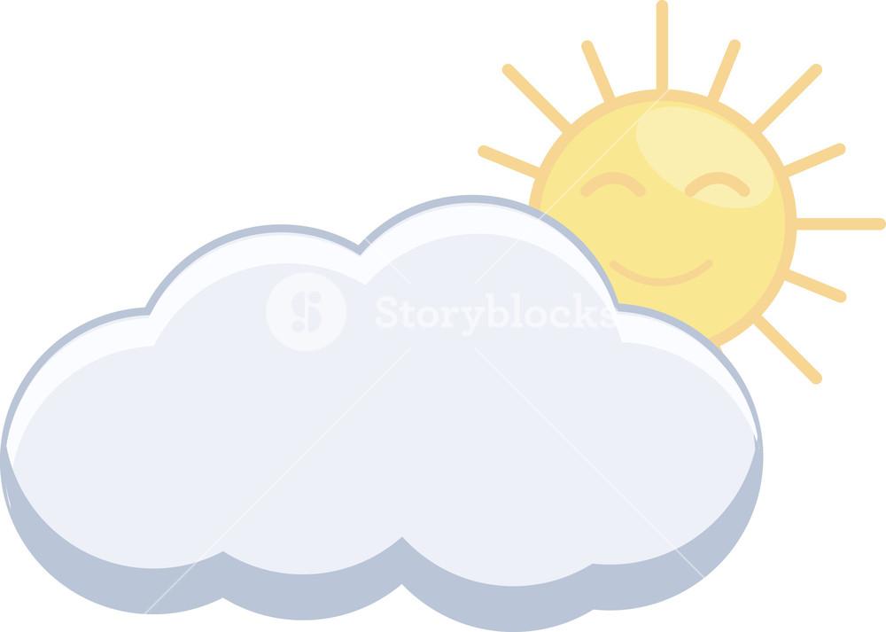 Cartoon clouds sunshine and. Sun cloud free download