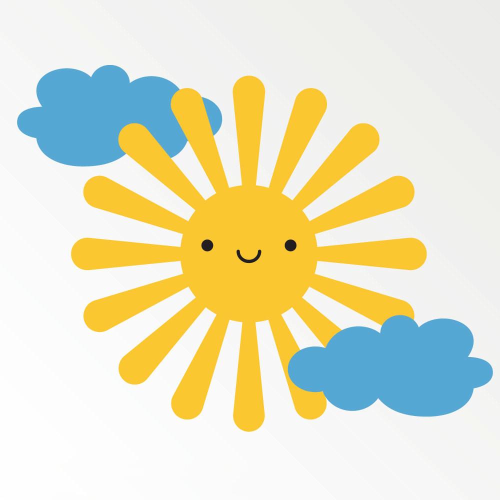 Sun Cloud Clipart   Free download best Sun Cloud Clipart on ...