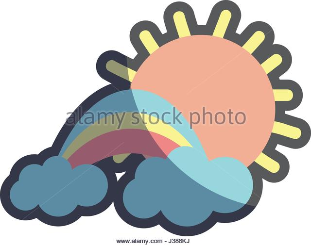 640x507 Cartoon Sun Cloud Sky Weather Stock Photos Amp Cartoon Sun Cloud Sky