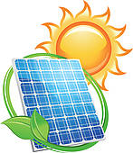 147x170 Clip Art Of Solar Energy Panel K7524088