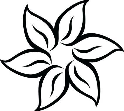 425x379 Sunflower Clipart Sunflower Black And White Sunflower Clip Art