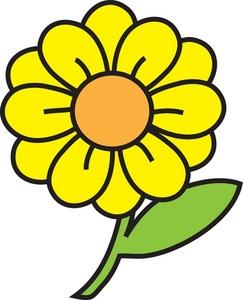 243x300 Sunflower Clip Art Free Vector Clipartcow