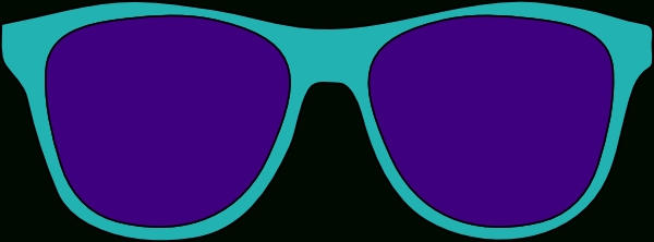 600x222 Sunglasses Glasses Images Free Glasses Images Free Download Clip