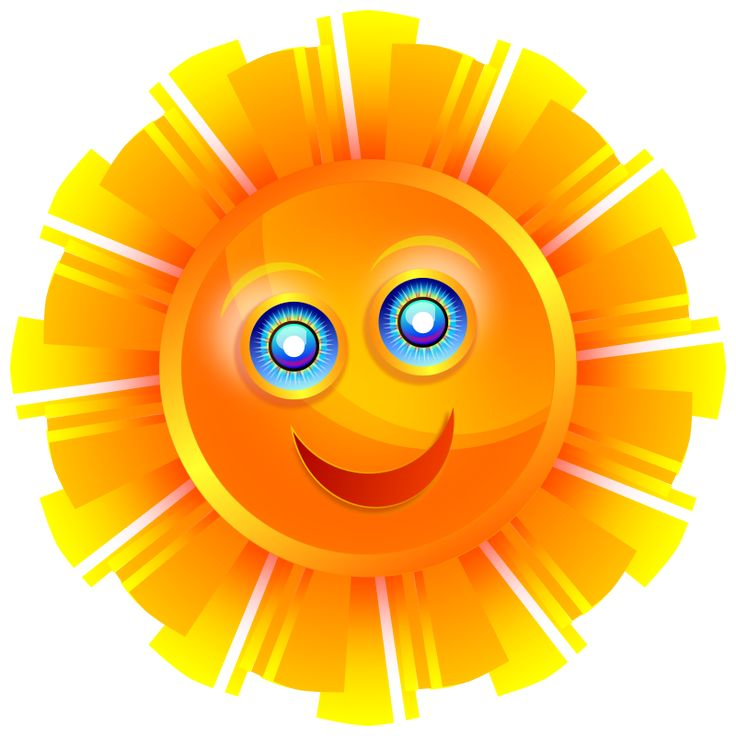 Sun Happy Clipart