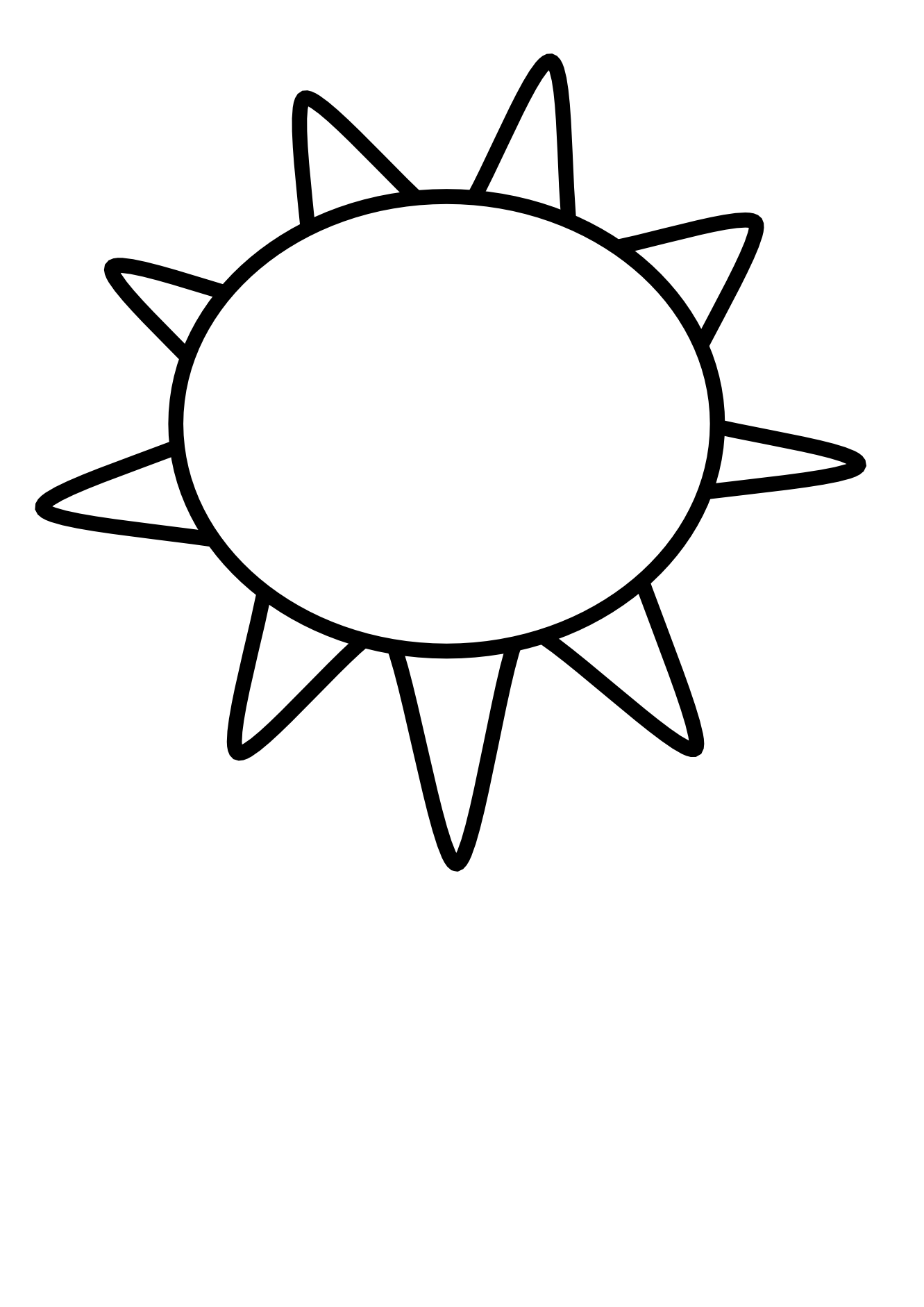 1331x1882 Half Sun Clip Art Half Sun Clipart Black And White Sun Outline