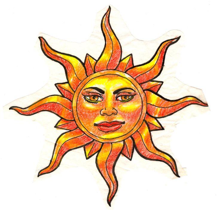 Sun Images Art