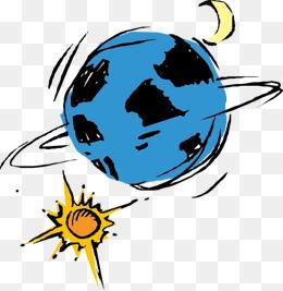 260x267 Moon Sun Earth Dividing Line, Moon Sun Earth, Cartoon Moon