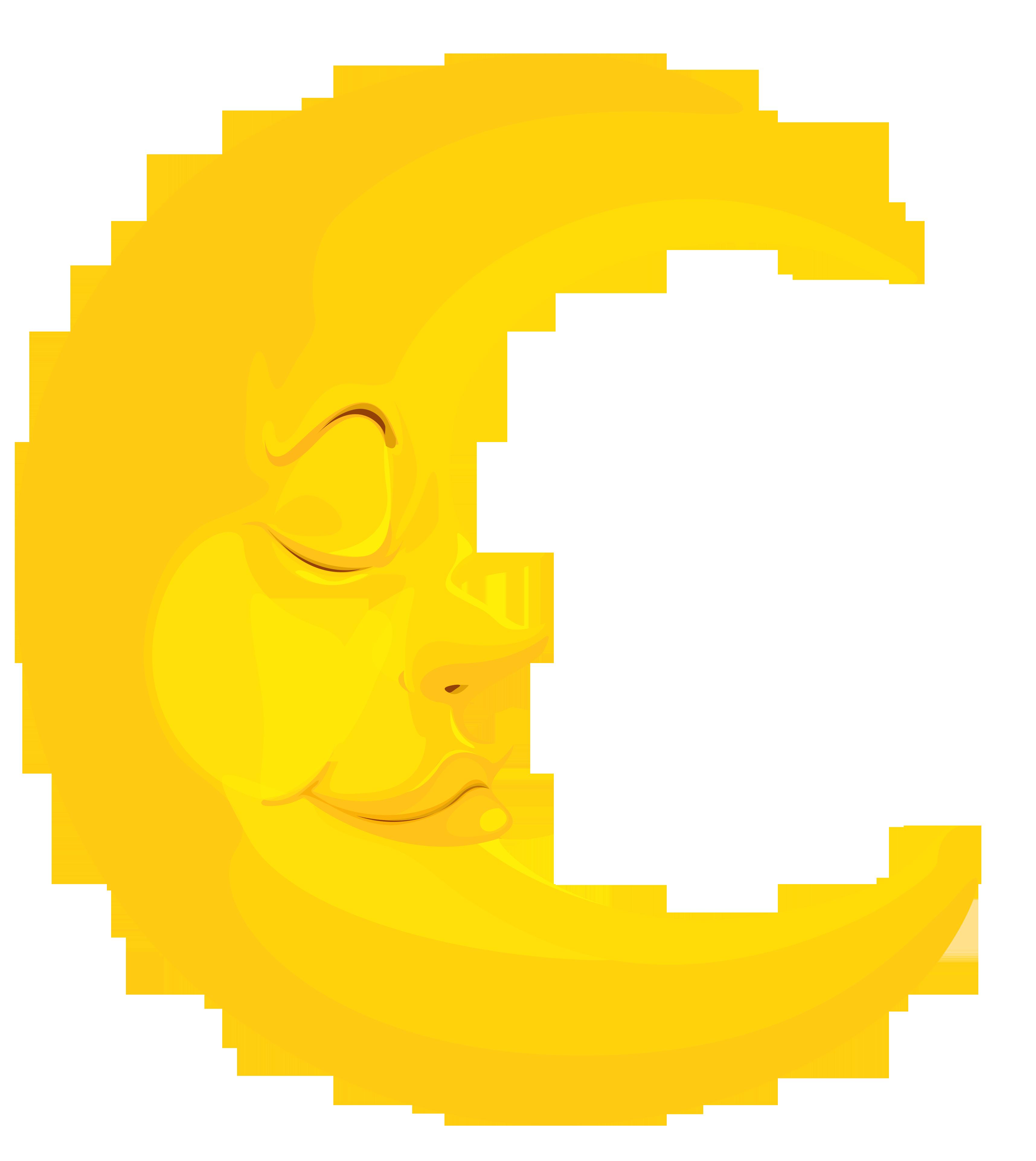 3431x3845 Moon Clipart
