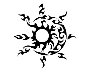 340x270 Sun Moon Svg Etsy