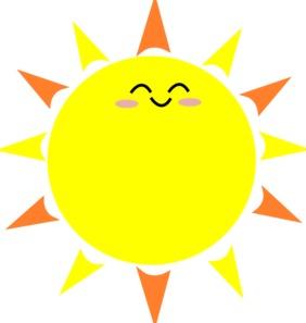 282x297 Sun Clipart Transparent Background