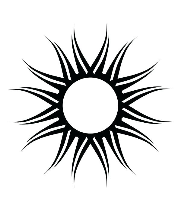 600x672 Sunshine Clipart Typical Sunshine Or Sunny Icon Set With Rays